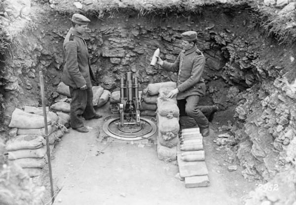 Minerwerfer léger allemand.