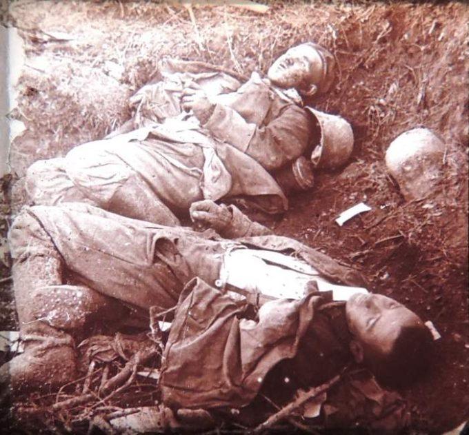 Douaumont cadavres allemands 1
