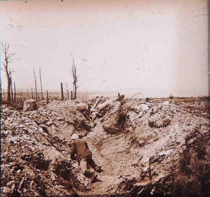 Vaux boyau bombardé1