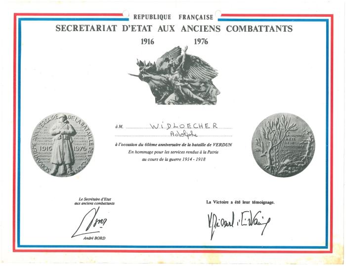 Diplome 60 ans Verdun