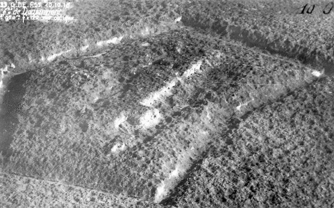 lefortbouleverseparlesbombardementsvueaerienne10octobre1916